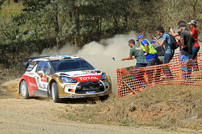 Mikko Hirvonen, Citroen DS3 WRC, SS11 Nambucca.