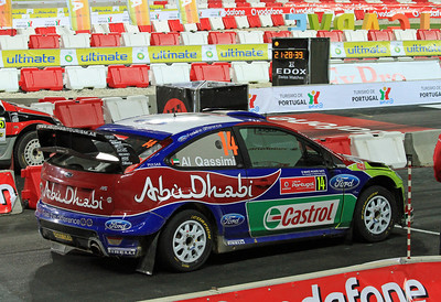 Khalid Al-Qassimi, Ford Focus RS WRC 09, SS1 Algarve Stadium 1.