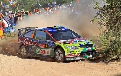 Jari-Matti Latvala, Ford Focus RS WRC 09, Shakedown.