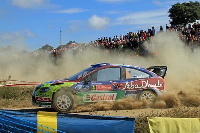 Jari-Matti Latvala, Ford Focus RS WRC 09, SS8 Almodovar 1.