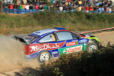 Miko Hirvonen, Ford Focus RS WRC 09, SS15 Loule 1.