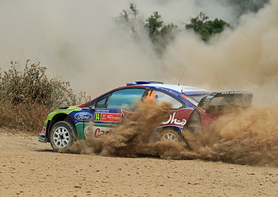 Khalid Al-Qassimi, Ford Focus RS WRC 09, SS4 Silves 1.