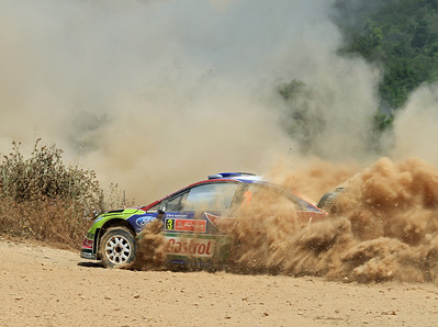 Miko Hirvonen, Ford Focus RS WRC 09, SS4 Silves 1.