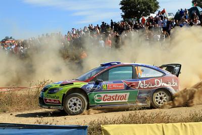 Khalid Al-Qassimi, Ford Focus RS WRC 09, SS8 Almodovar 1.
