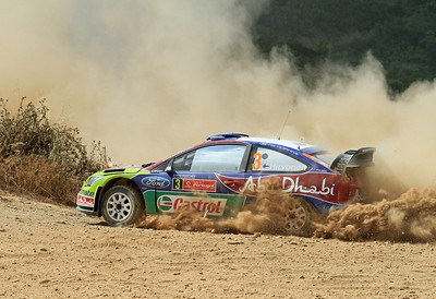 Miko Hirvonen, Ford Focus RS WRC 09, SS7 Silves 2.