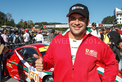 Braselton GA 60 AF Corse Ferrari driver Marco Cioci / Roma, IT