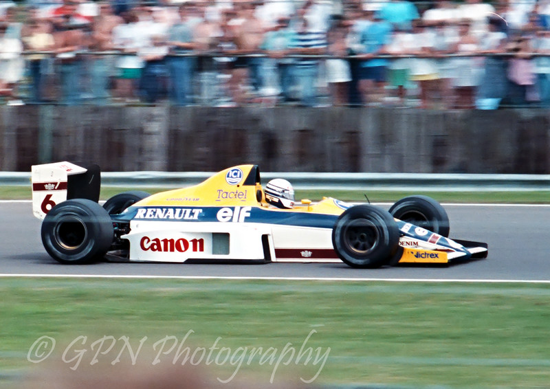 Riccardo Patrese - Williams Renault FW13