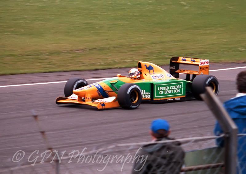 Martin Brundle - Benetton Ford B192
