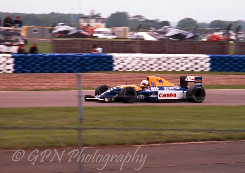 Ricardo Patrese - Williams Renault FW14B