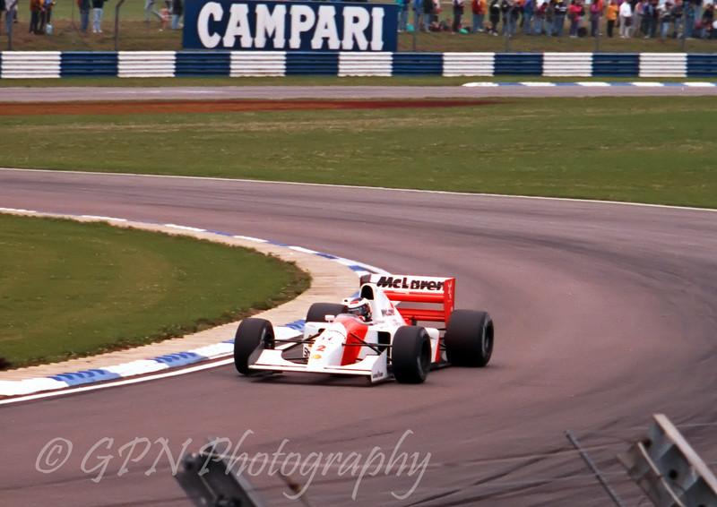 Gerhard Berger - McLaren Honda MP4/7A