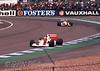 Gerhard Berger - McLaren Honda MP4/7A leads Aguri Suzuki - Footwork Mugen FA13