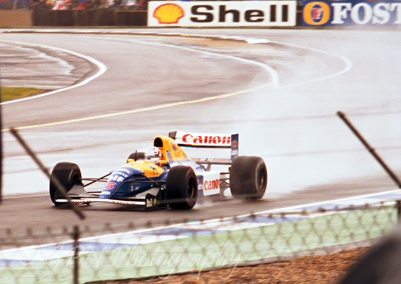 Nigel Mansell - Williams Renault FW14B