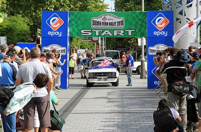 #3 Simon Tysoe/Chris Parsons - Start, Cathedral Square, Christchurch.