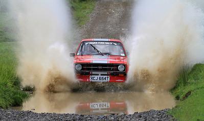 #1 Geoff Bell/Tim Challen - SS7, Okuku Pass.
