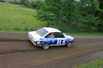 Christian Kelders, Ford Escort RS1800, SS22 Clareinch.