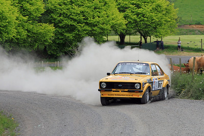 Jeff Judd, Ford Escort RS1800, SS5 Piakonui.