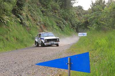 Deane Buist, Ford Escort RS1800, SS9 Manawahe.