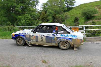 Christian Kelders, Ford Escort RS1800, SS24 Maunga.