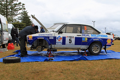 Christian Kelders, Ford Escort RS1800, Napier Service Park.