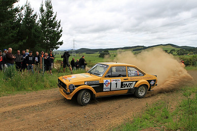 Jeff Judd, Ford Escort RS1800, SS2 Maramarua 1.