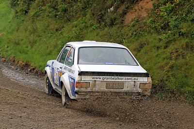 Geoff Portman, Ford Escort RS1800, SS21 Waitara.