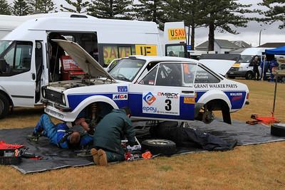 Geoff Portman, Ford Escort RS1800, Napier Service.