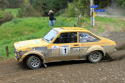 Jeff Judd, Ford Escort RS1800, SS26 Birch East.