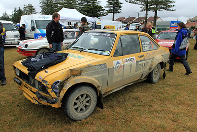 Jeff Judd, Ford Escort RS1800, Napier Service.