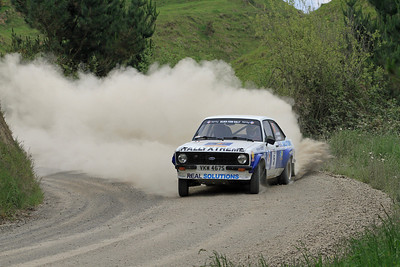 Christian Kelders, Ford Escort RS1800, SS7 Taumata.