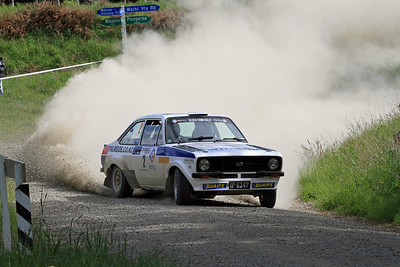 Deane Buist, Ford Escort RS1800, SS27 Waihi Valley.