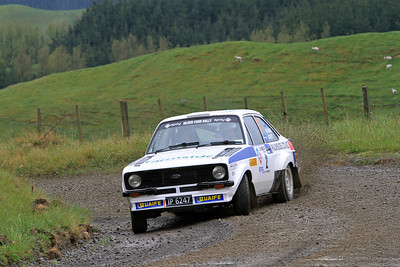 Deane Buist, Ford Escort RS1800, SS21 Waitara.