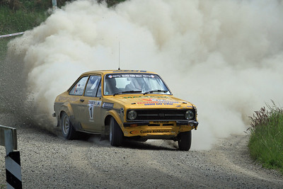 Jeff Judd, Ford Escort RS1800, SS27 Waihi Valley.