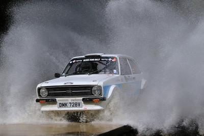 Simon Tysoe, Ford Escort RS1800, SS11 Braeburn Track.