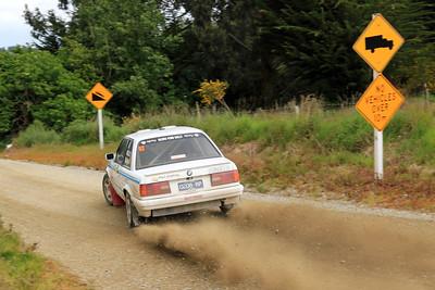 Ed Mulligan, BMW 3251, SS35 Tuapeka