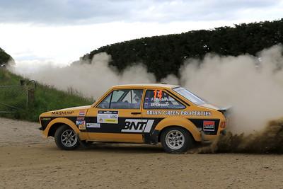 Brian Green/Fleur Pedersen, Ford Escort RS1800, SS07 Biasion.