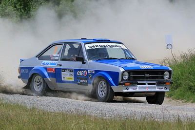 Vince Bristow/Tim Sayer, Ford Escort RS1800, SS04 West.
