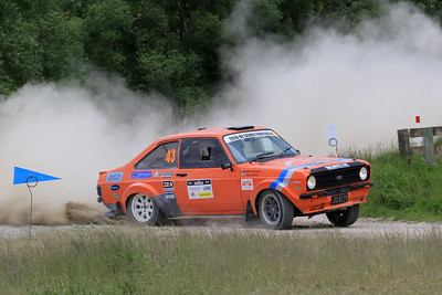 Mike Wheatley/Tudor Davies, Ford Escort Mk II, SS04 West.