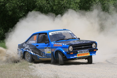 Meirion Evans/Lestyn Williams, Ford Escort MkII RS1800, SS04 West.
