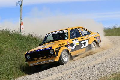 Brian Green/Fleur Pedersen, Ford Escort RS1800, SS01 Paddon.