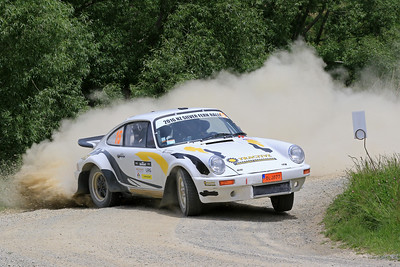 Anders Johnsen/Ingrid Johnsen, Porsche 911 RS, SS04 West.