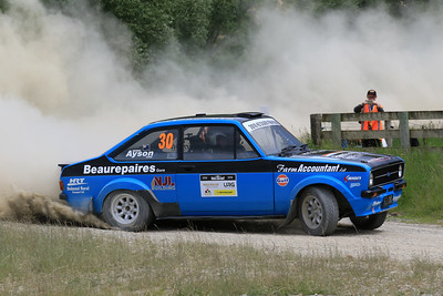 Derek Ayson/Gavin McDermott, Ford Escort, SS04 West.