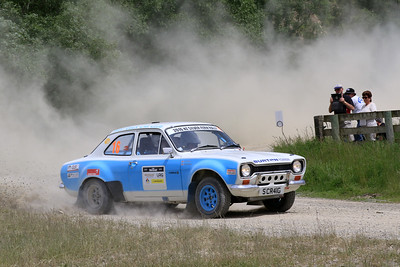 Craig Salter/Preston Ayres, Ford Escort RS1600, SS04 West.