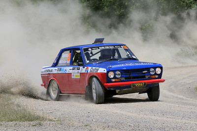 John Spencer/Dean McCrostie, Datsun 1600, S04 West.