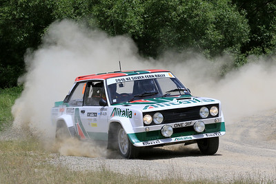 Matthew Robinson/Sam Collins, Fiat 131, SS04 West.