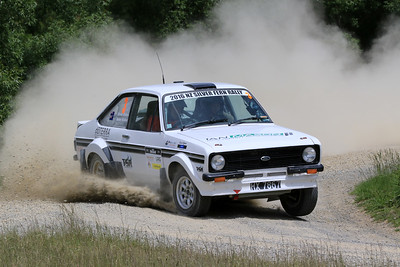 Brian Stokes/Anne Stokes, Ford Escort RS1800, SS04 West.