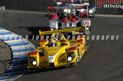 ALMS: The Sascha Maassen – Ryan Briscoe RS Spyder leading the Pickett – Graff Lola AER & the Dyson – Smith RS Spyder at 8A in the Corkscrew.  (Image #1DJ6225e)