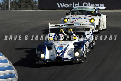 ALMS: The Leitzinger – Wallace RS Spyder followed by the Rahal – Letterman 911 RSR of Ralf Kelleners & Tom Milner at the diving into 8B of the Corkscrew.  (Image #1DJ6334ec)