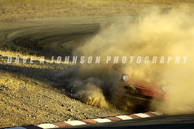 Steve Gerkin's Tough Day in the High Desert (Porsche Owners Club Orange Group Cup Race at Willow Springs, 2006-12-02)