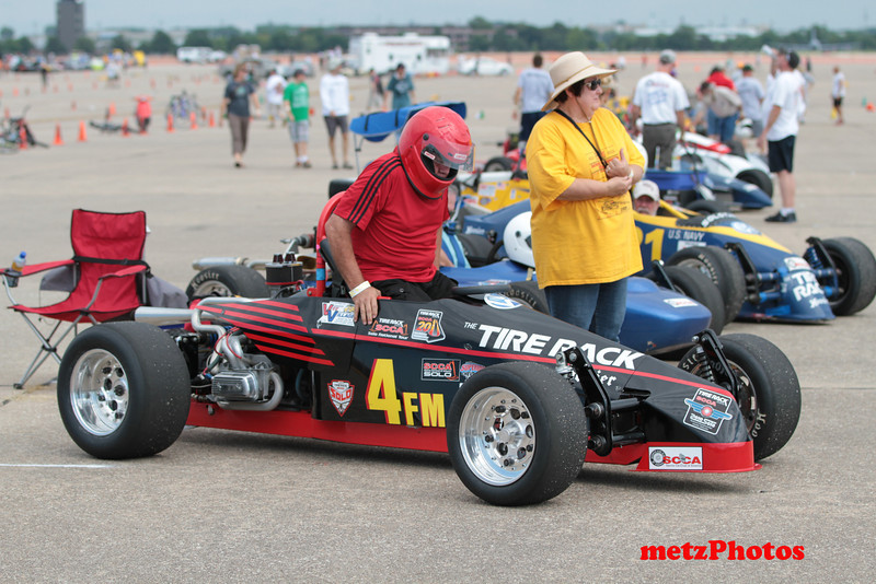 Vernon Maxey 2011 At Lincoln, note one carb setup.