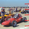 C modified cars in Salina, Kansas, Nationals in 1990.